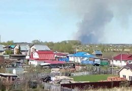 Трава горит — снаряды рвутся: В поселке Пугачево в Удмуртии