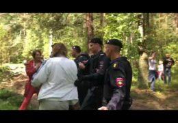 Ликино-Дулево против вырубки леса для помойки: Фашисты мусора путина избивают людей