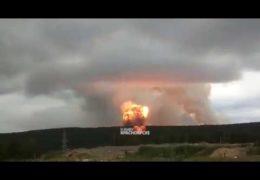 Ачинск: Взрывы на складе боеприпасов 05 августа 2019 года