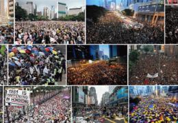 Свободный Гонконг: Акции протеста против диктатуры Китая Октябрь 2019 года Прямой эфир / Трансляция