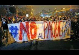 Эквадор протестует: Правительство покинуло столицу Октябрь 2019 года Прямой эфир / Трансляция