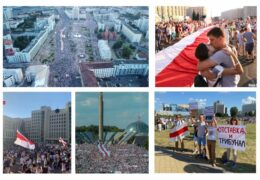 Беларусь Марш единства: 06 сентября 2020 года Прямой эфир / Трансляция