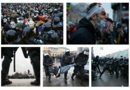 Протест после приговора: Реальный срок Навальному 02 февраля 2021 года Прямой эфир / Трансляция
