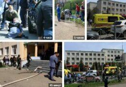 Казань: Расстрел в школе — 9 убито, 21 ранен 11 мая 2021 года